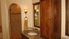 Old World Shower entrance