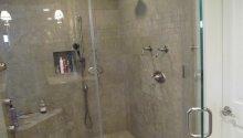 Limestone Tile Shower