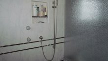 Augusta Shower & splash wall