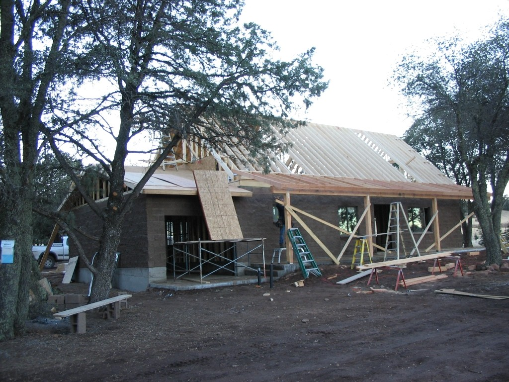 New cabin build in Young AZ