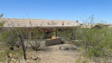 Desert Hills new build rear elevation